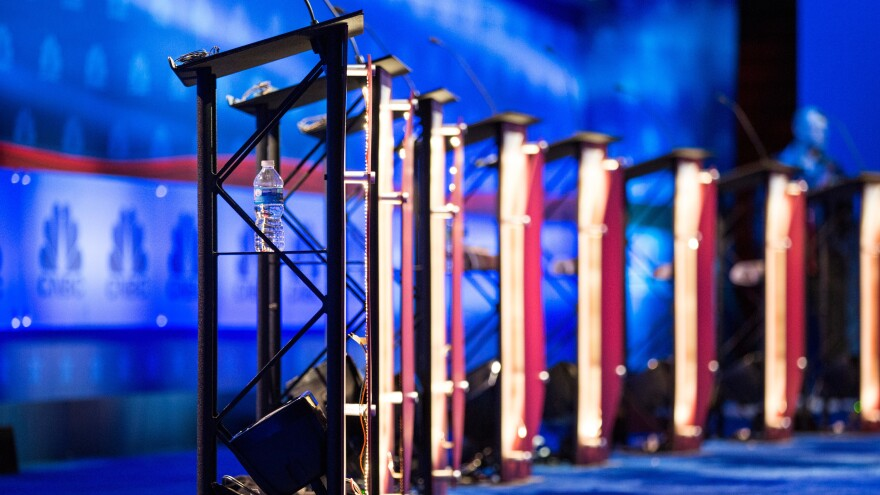 With a large field of candidates expected, the Democratic National Committee is laying out how it will accommodate candidates for presidential debates.