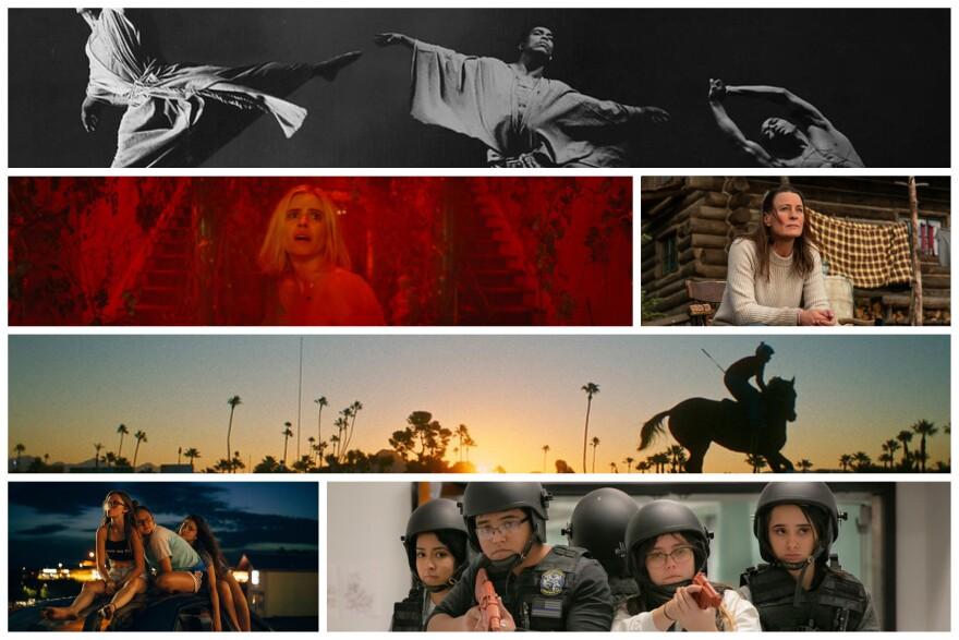 stills from 2021 films featured at sundance film festival