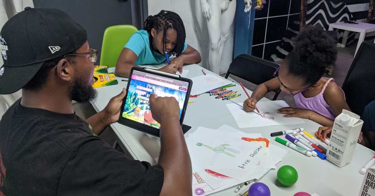 Banking On Digital Art: Can NFTs Made By Kids Ensure A Brighter Future For Colorado's Communities Of Color?