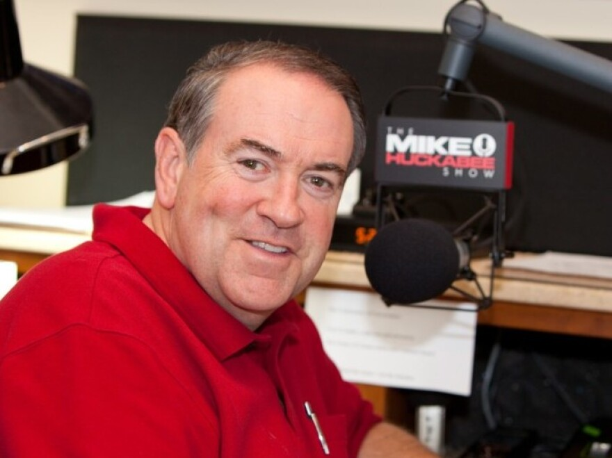 "Former Arkansas Gov. Mike Huckabee says his new radio show will be more ""conversation and less confrontation."""
