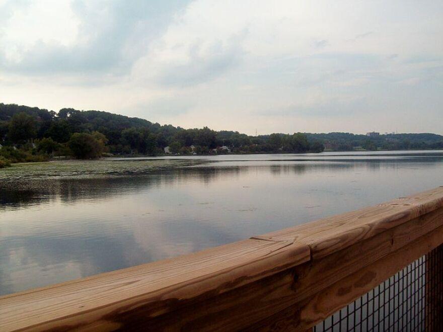 A photo of Summit Lake