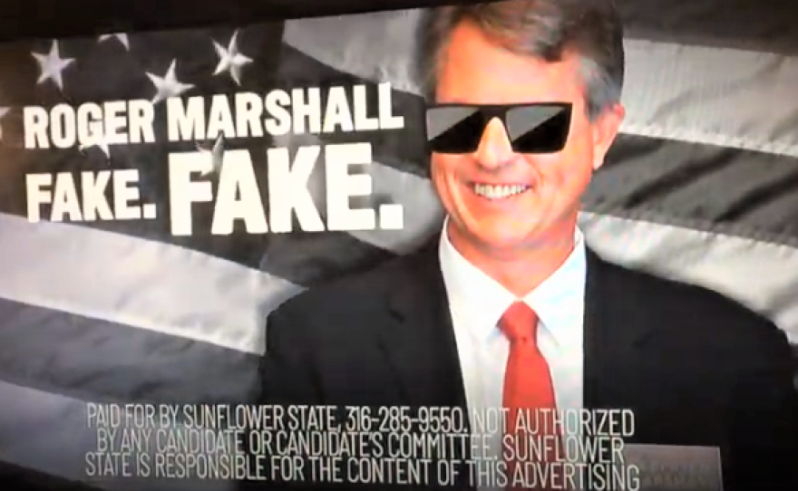 Super PACS are spending millions of dollars on ads for and against Republican U.S. Senate candidates Kris Kobach and Roger Marshall ahead of August primary in Kansas.
