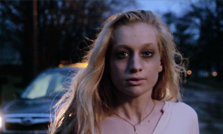 Actor's portrayal of a teenage girl undergoing the stress of heroin