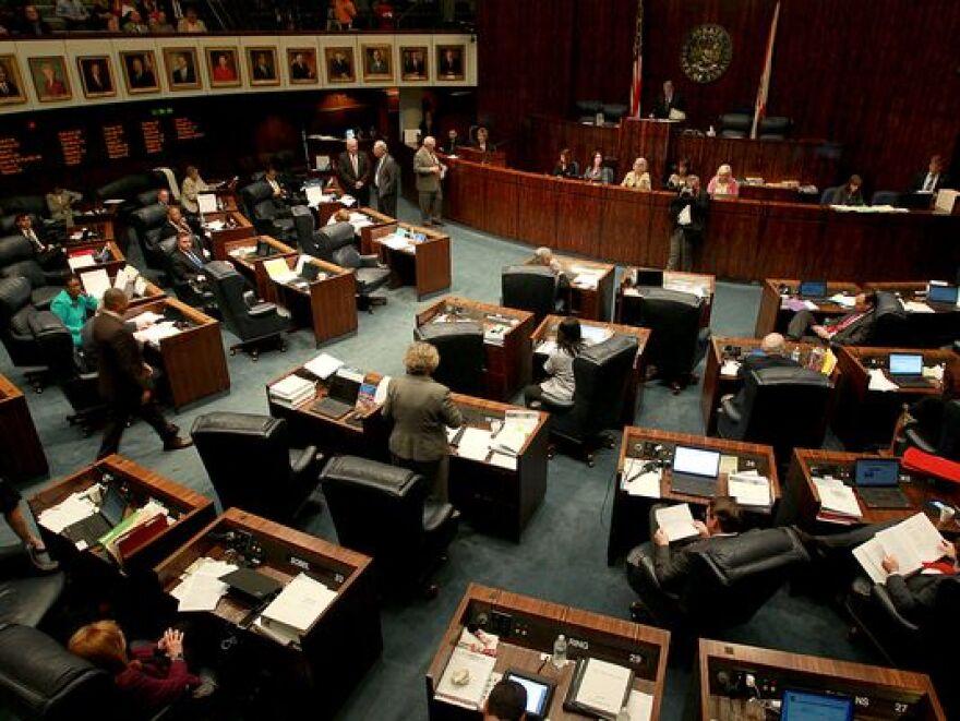 The Florida Senate Chambers.