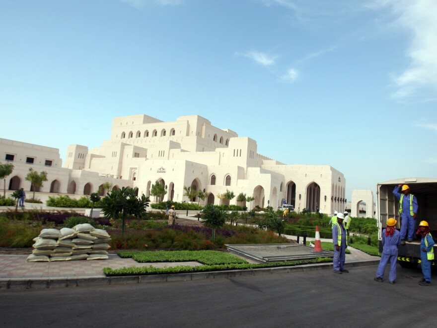 Oman's Royal Opera House opened in 2011.