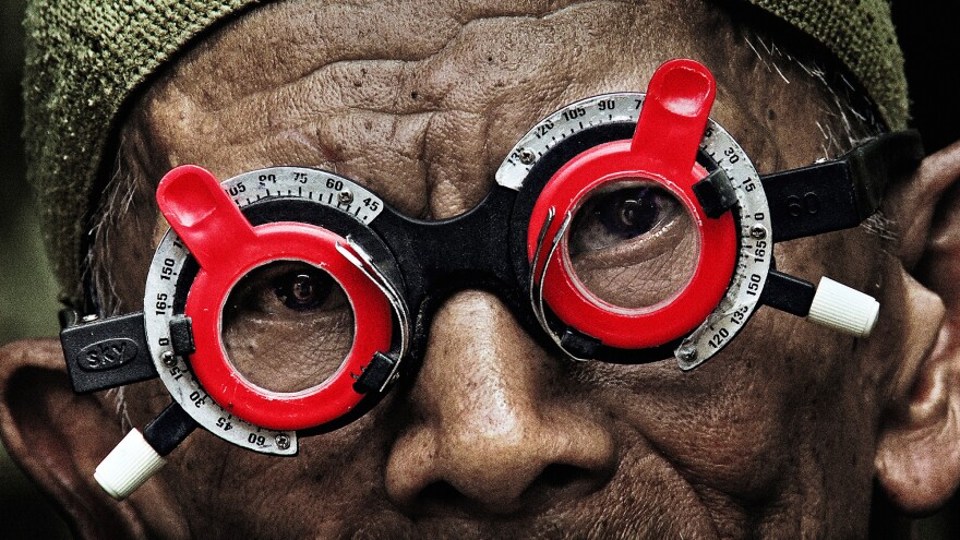 In Joshua Oppenheimer's documentary <em>The Look of</em> Silence, an Indonesian optometrist offers forgiveness to his older brother's killers — if they'll admit to the deed.
