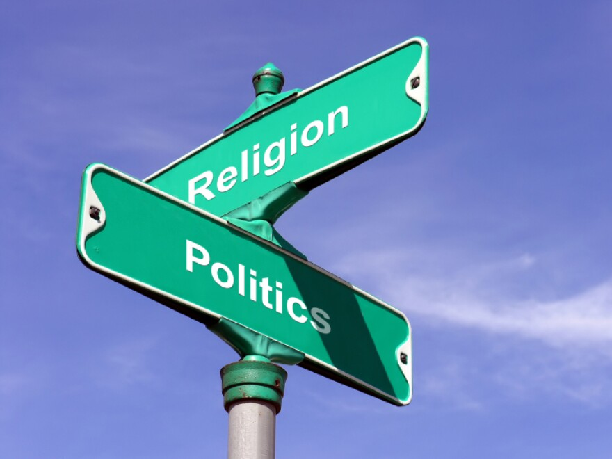 """Religious voices have entered the campaign finance debate, with a tract titled """"Lo$ing Faith In Our Democracy."""""""