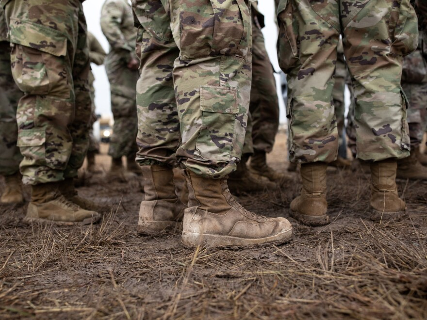 The Pentagon will take immediate steps to begin addressing discrimination in the armed forces, U.S. Defense Secretary Mark Esper said Wednesday. U.S. Army troops are seen here in Texas along the U.S.-Mexico border in November 2018.