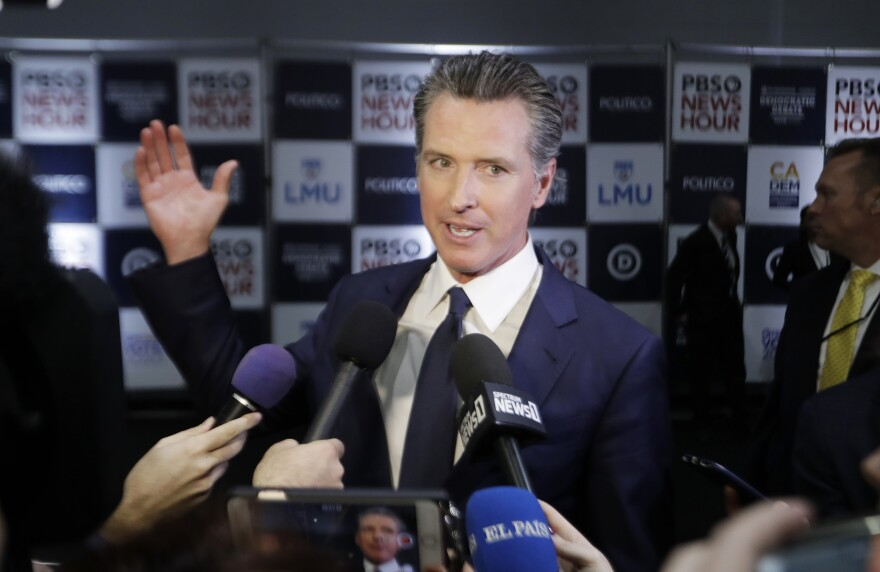 California Gov. Gavin Newsom is planning to ask state lawmakers to approve more than $1 billion in additional aid to combat the state's growing homelessness problem.