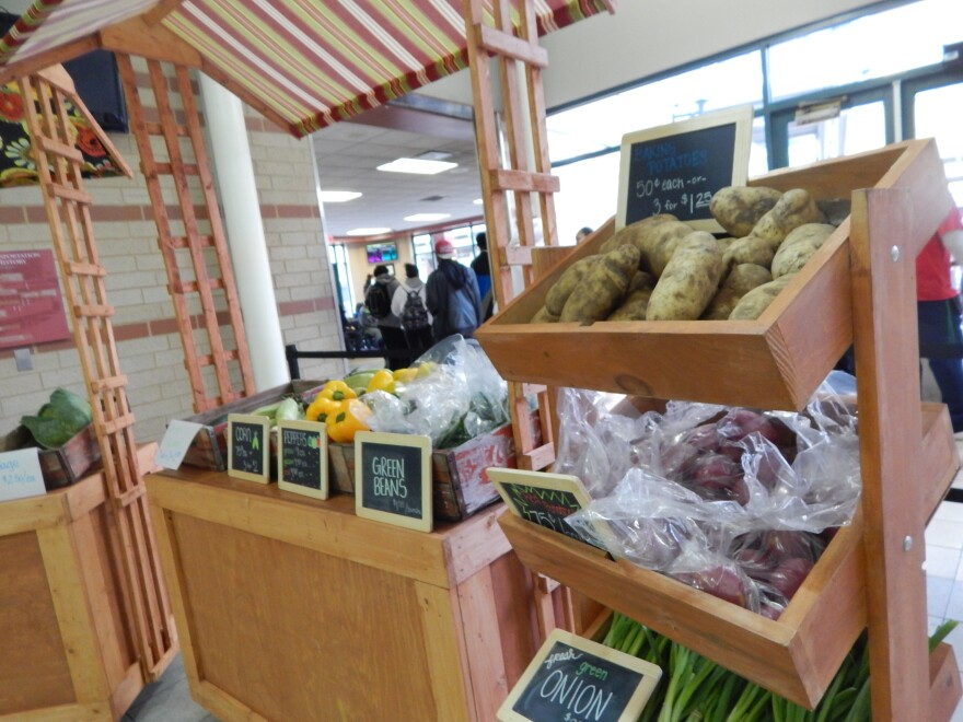 The Market at Wright Stop Plaza is open inside the bus station Tues.-Thurs. from 12 p.m.-6 p.m. food desert rta bus dayton