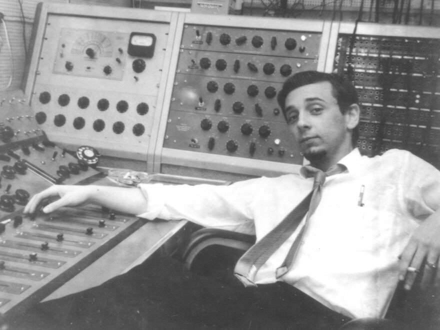 Phil Spector, in the studio in an undated photo.