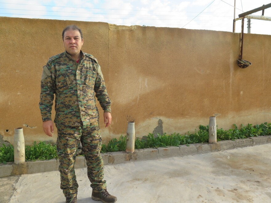 """ISIS is not yet defeated and there are still many sleeper cells to take care of,"" warns Mustafa Bali, a spokesman for the Syrian Democratic Forces."