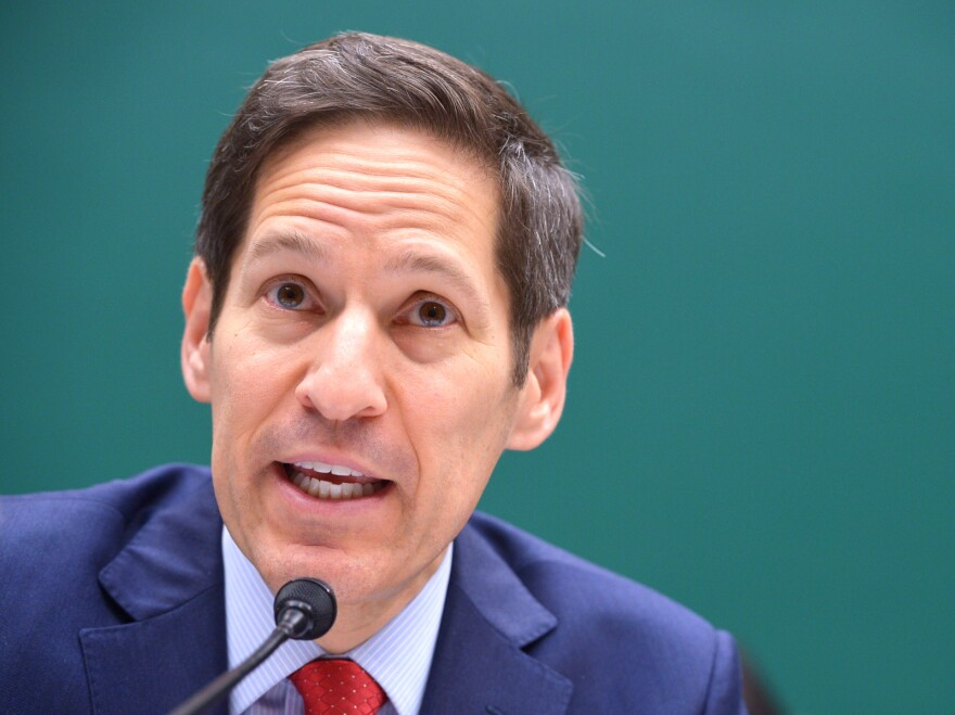 The CDC's director, Tom Frieden, testified before a congressional subcommittee Wednesday regarding a recent anthrax incident and lab safety improvements he is instituting.