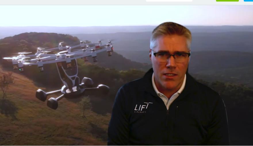 Matt Chasen, CEO of LIFT Aircraft.