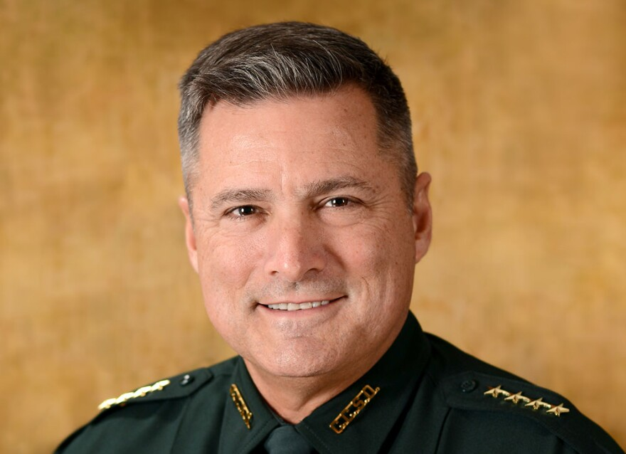 Citrus County Sheriff Mike Prendergast fatally struck a pedestrian on U.S. 19 in Hernando County, according to the Florida Highway Patrol.