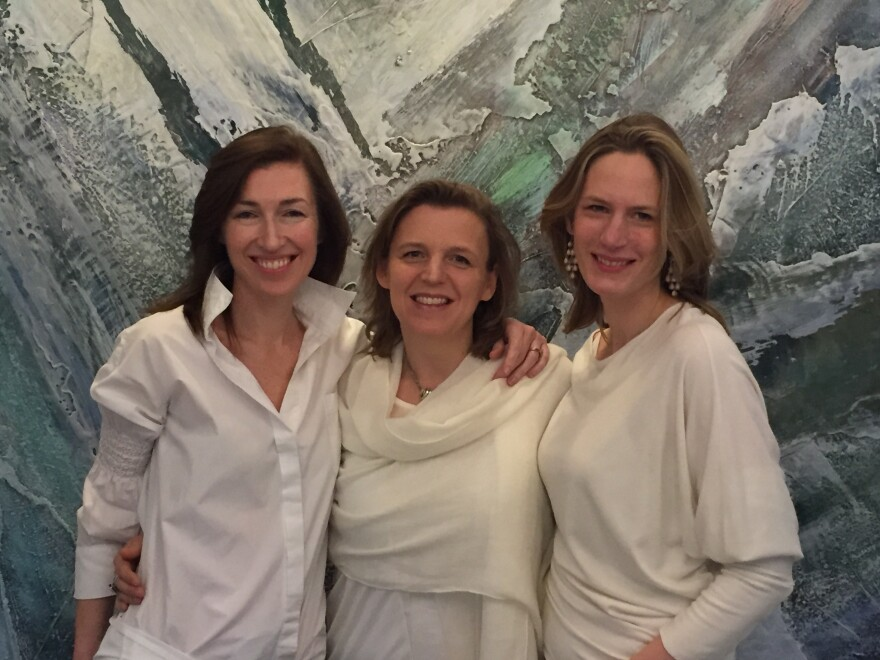 INGA Wellbeing co-founders: (L-R) Fiona Mc Greal, Claire Robinson and Nikla Lancksweert.