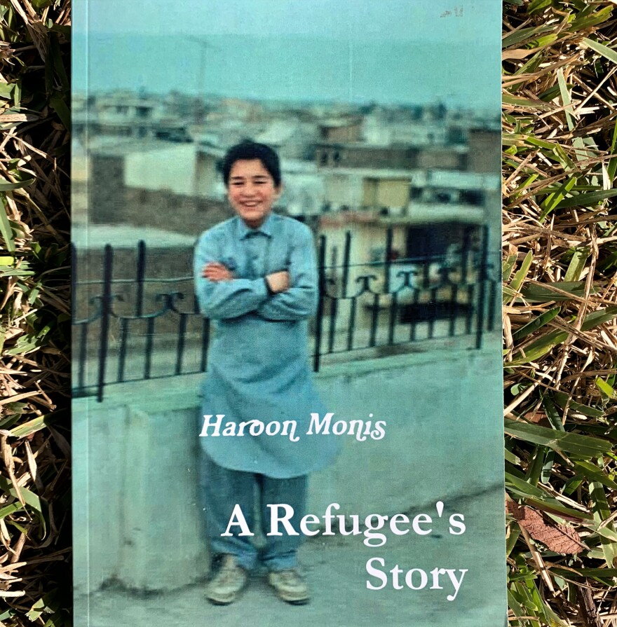 "San Antonio educator Haroon Monis wrote his book ""A Refugee's Story"" after fleeing from his war ravaged homeland, Afghanistan, in the 1980s."