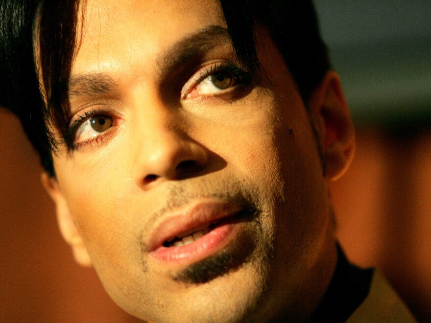 Officials say they are still investigating how Prince, pictured here in 2005, died on Thursday.