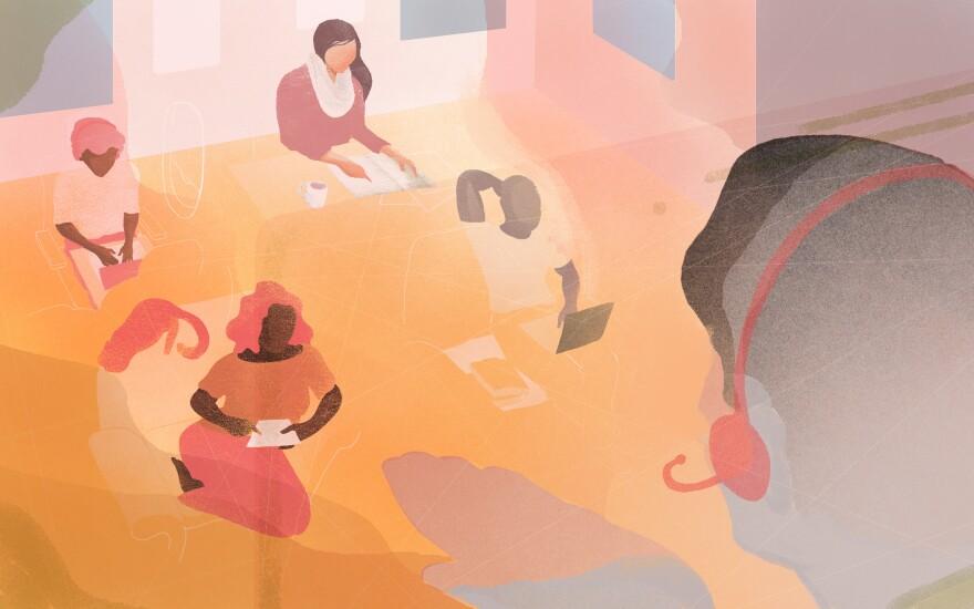 A digital classroom