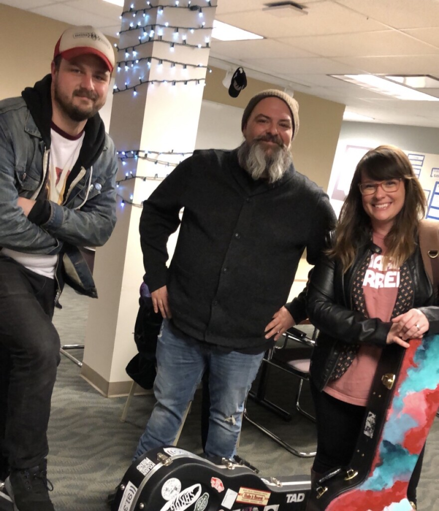 David Payne, Harold Hensley and Amber Hargett will perform at the 2020 Winterfolk festival.