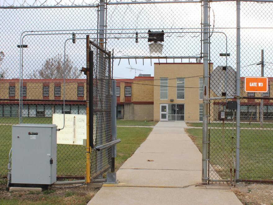 "Nearly 800 Illinois inmates with serious mental illness have been transferred to Joliet Treatment Center and three similar treatment facilities. The campus includes single-story ""dorms,"" a dining hall, a gym and a vocational building. It's also surrounded by two layers of barbed wire fencing."