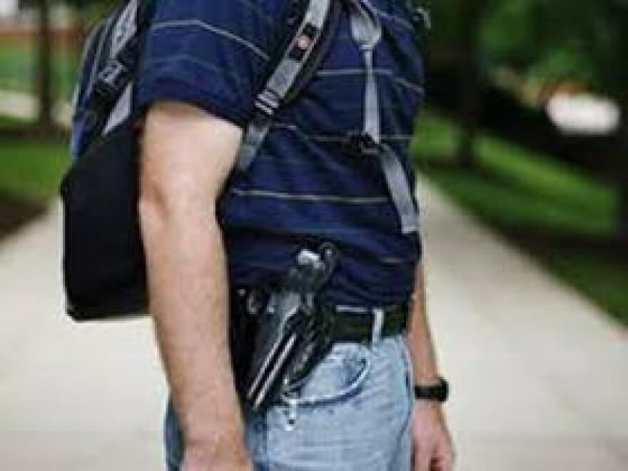 Lawmakers are reviving legislation allowing concealed weapon permit holders to bring their guns on college campuses. The bill died last year.