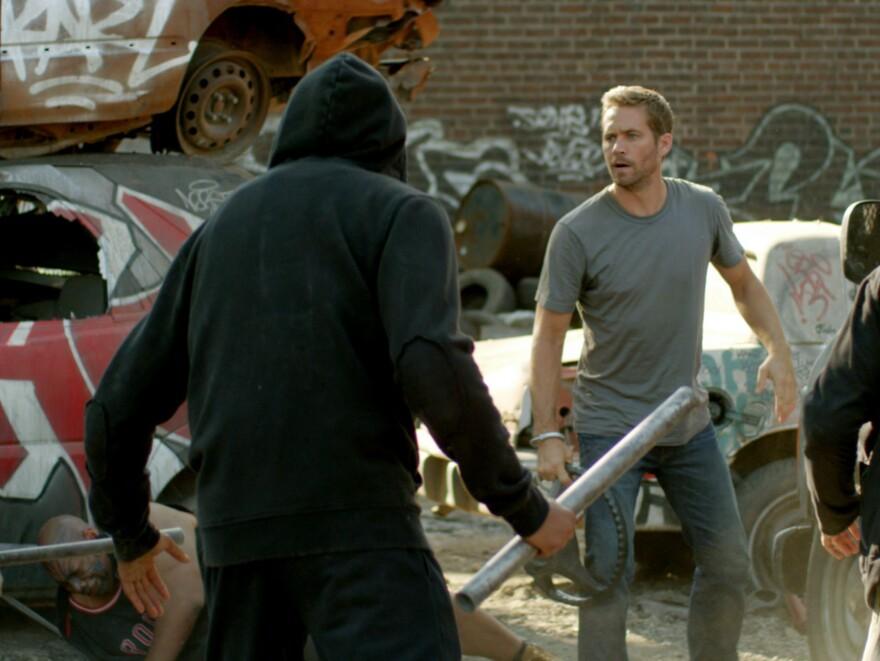Paul Walker stars in <em>Brick Mansions</em>.