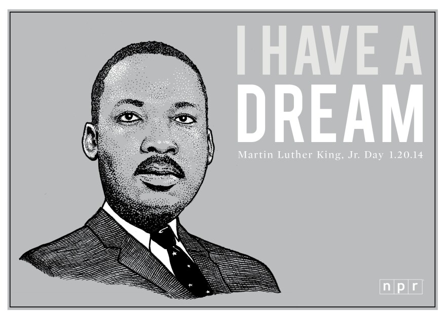 Celebrating the great man, Martin Luther King, Jr.