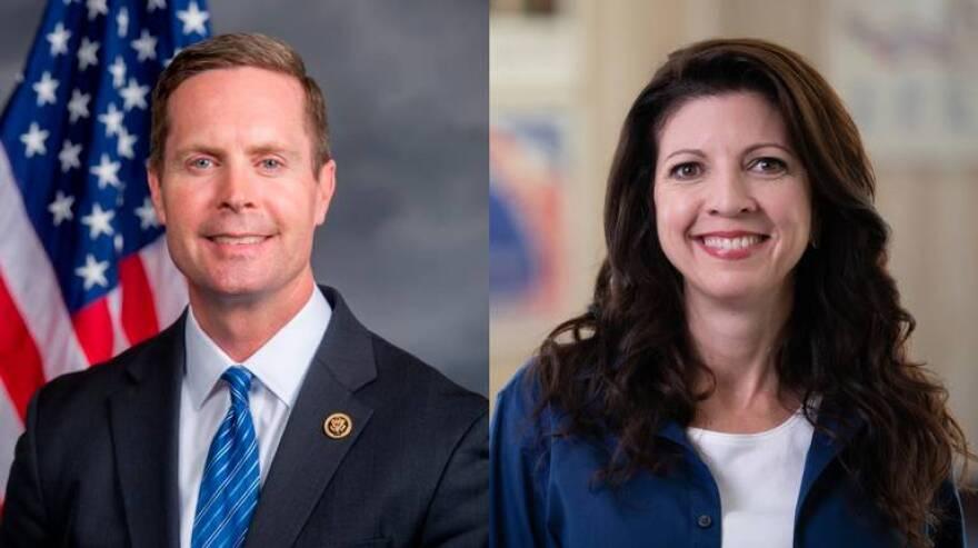llinois' 13th Congressional District race, U.S. Rep. Rodney Davis, R-Taylorville and Betsy Dirksen Londrigan Democrat .