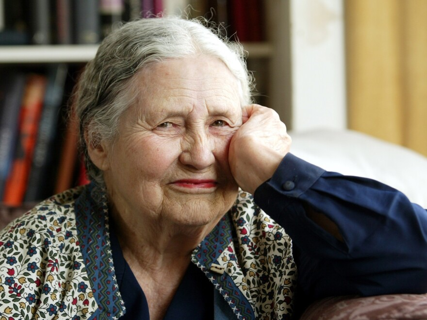 """Doris Lessing, pictured here in 2006, once refused to allow the queen to declare her a dame of the British Empire, because — as the author put it — """"There is no British Empire."""""""