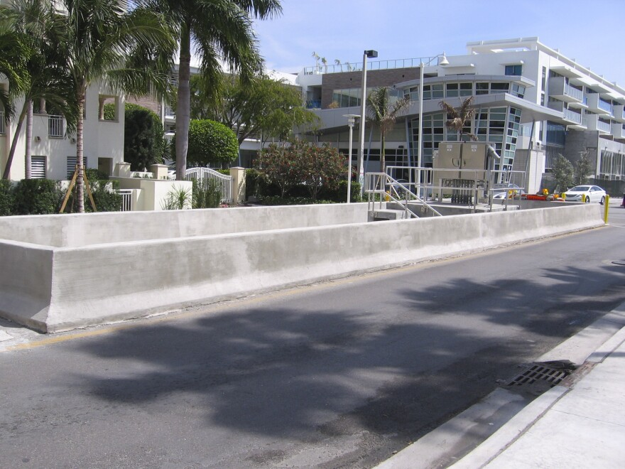 One of Miami Beach's new pump stations.