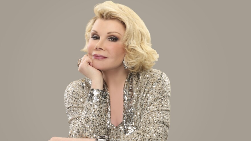 """Joan Rivers says her material has only gotten stronger with age. """"I always say, 'What are you going to do? Are you going to fire me? Been fired. Going to be bankrupt? Been bankrupt.'"""""""