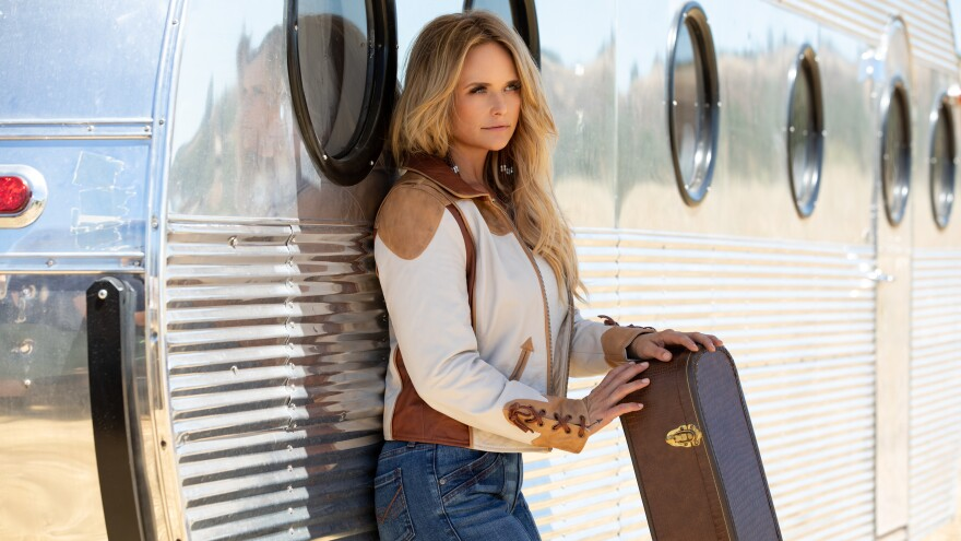 "Miranda Lambert released her seventh solo album, <em>Wildcard</em>, on Nov. 1. ""I'm still stubborn and hardheaded,"" Lambert says, ""But I have a career. People heard me. I don't have to scream it out anymore."""