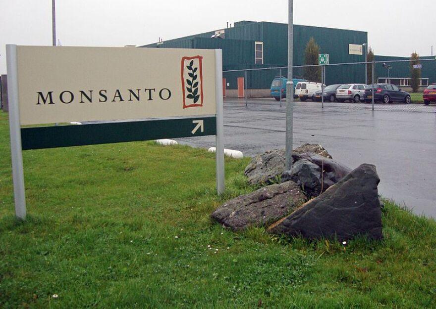 Monsanto-vestiging in Enkhuizen, Netherlands