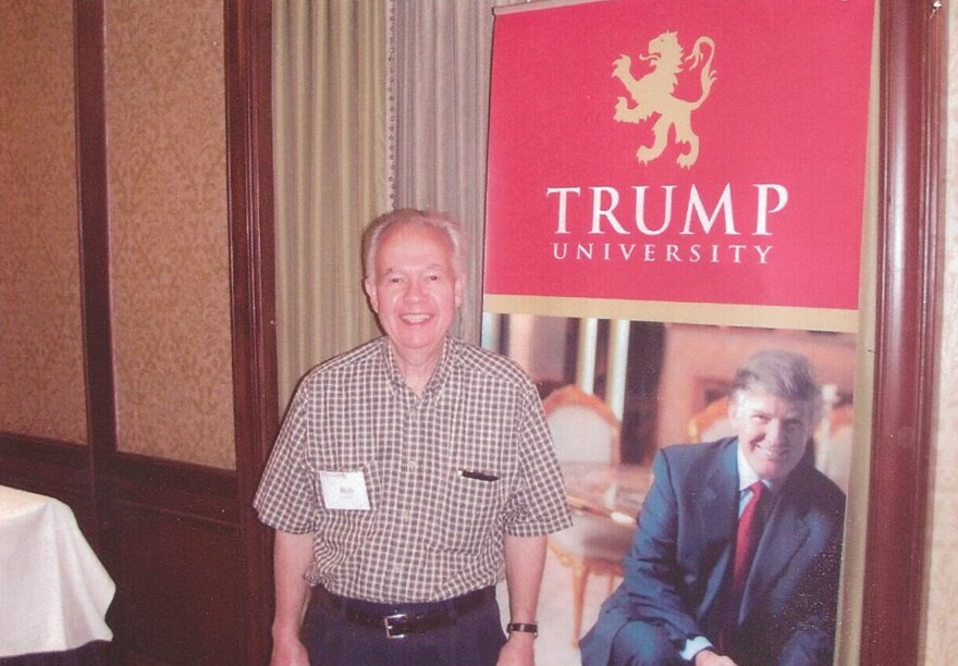 Bob Guillo attended a Trump University retreat session which cost $35,000. He learned little from the program and later asked for his money back.