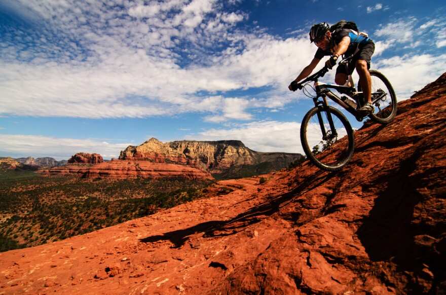 Mountain biking is banned in wilderness areas - about 100 million acres in the U.S. But congressional legislation could change that.