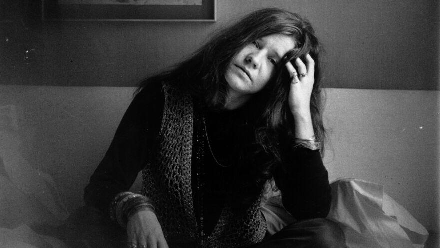 Janis Joplin in 1969.