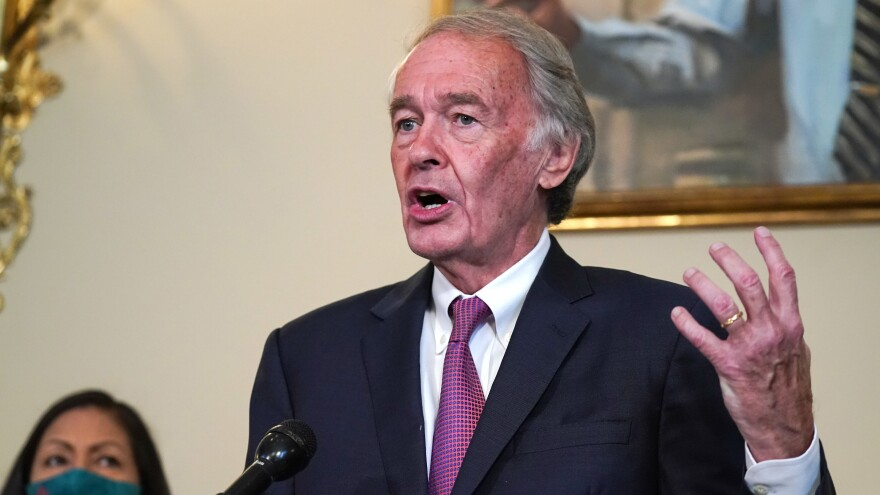 Sen. Ed Markey, D-Mass., is leading an effort to ensure climate is addressed at every presidential debate this cycle.