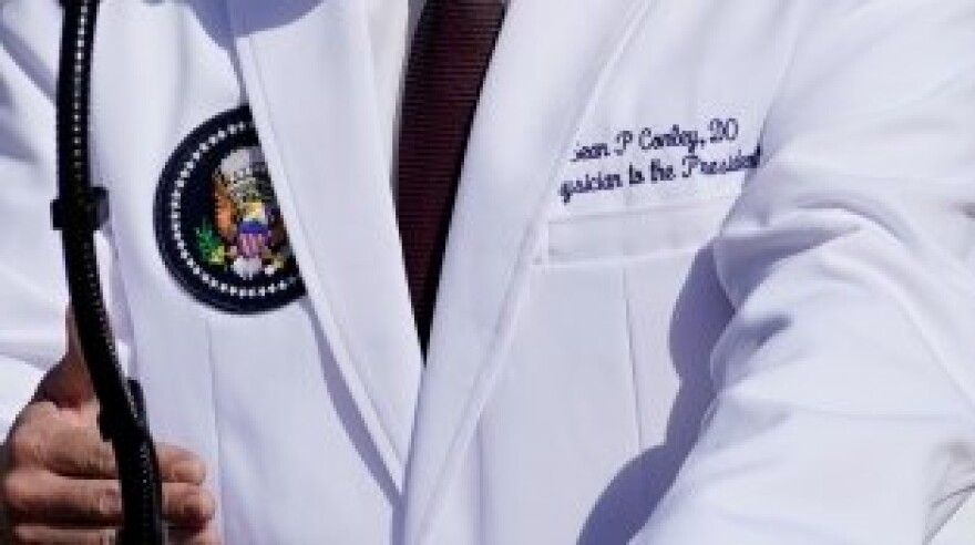 Two types of licensed physicians exist in this country - M.D.s and D.O.s.  The president's physician is a D.O.