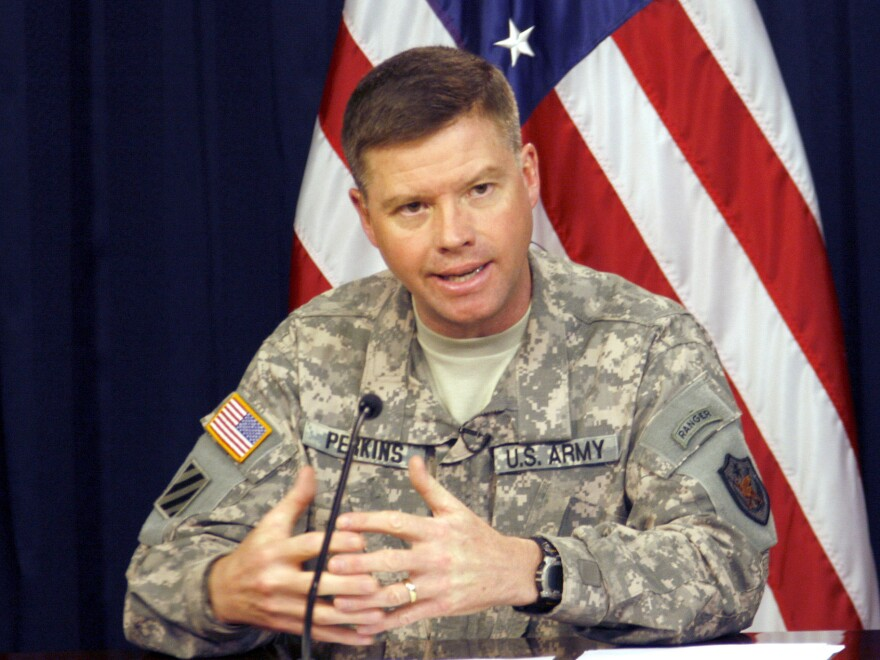 Gen. David Perkins, who led the first troops into downtown Iraq in 2003, now runs the Combined Arms Center at Fort Leavenworth in Kansas. He says toxic leadership could have life or death consequences.