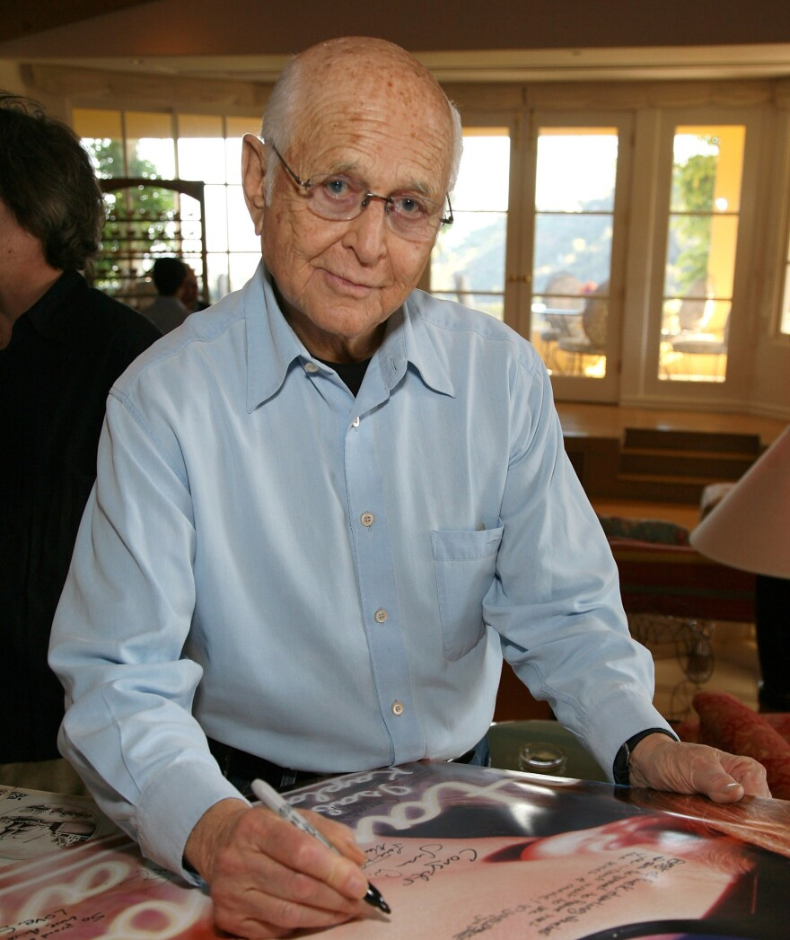 Norman Lear hosts a book party in 2009. At almost 90, Lear is still an active member of People for the American Way, the progressive advocacy group he helped found in 1981.