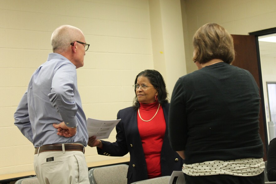 Soon-to-be former Greendale Mayor Monica Huddleston took part in a Ferguson Commission working group last week on municipal governance.