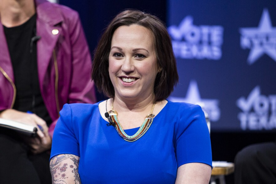 MJ Hegar, a former Air Force pilot, is the front-runner for the nomination to run against John Cornyn in November.