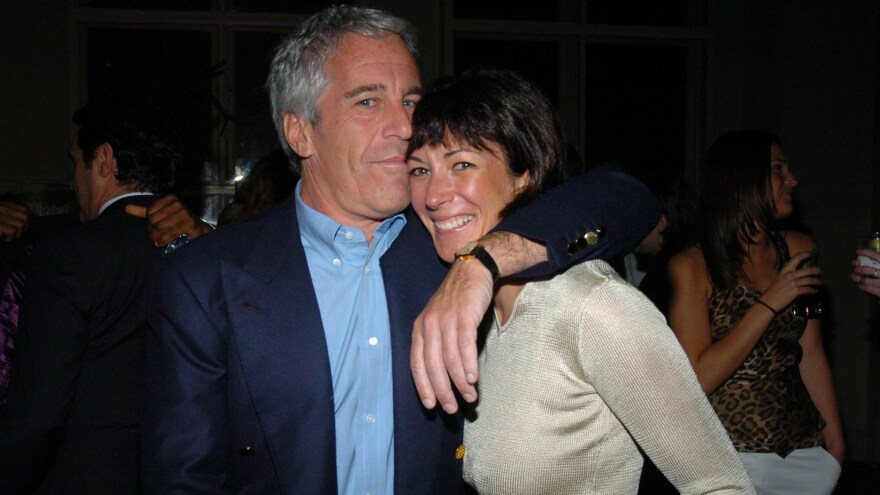 Ghislaine Maxwell has been arrested on charges that she helped Jeffrey Epstein recruit underage girls for sexual abuse. The two are seen here in 2005.