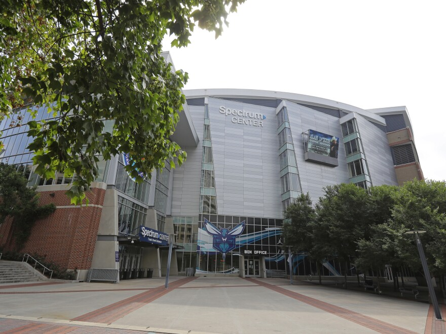 The Spectrum Center in downtown Charlotte, N.C., is the site of the Republican National Convention in 2020.