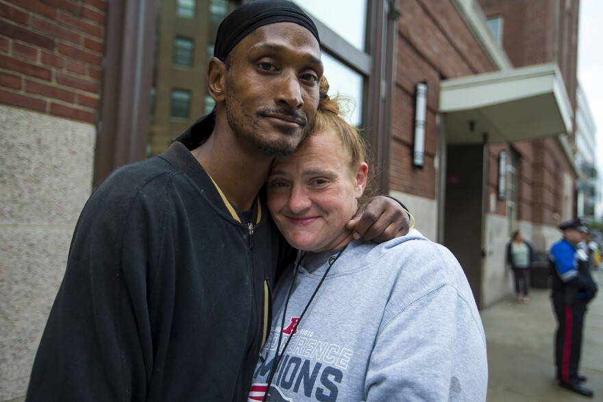 Phill and Deana are in treatment for heroin addiction. Phill says he found a sense of hope with the Suboxone treatment he gets at The Boston Health Care For The Homeless Program.