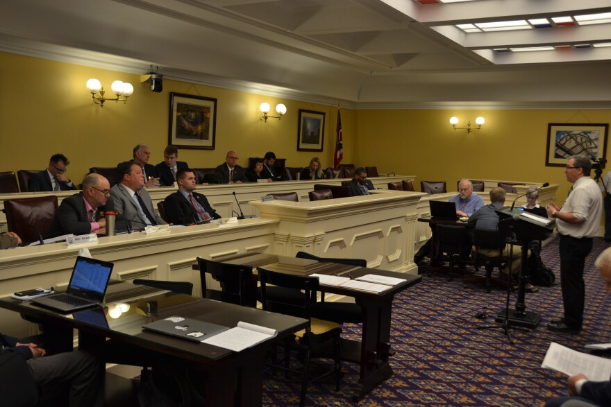 A photo of the Ohio House subcomittee on energy