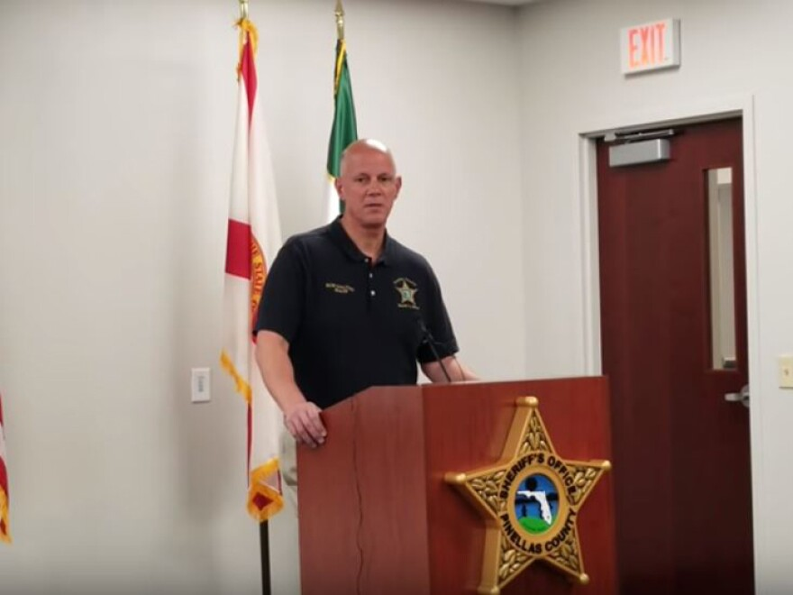 Pinellas County Sheriff Bob Gualtieri, seen here in a file photo, explained his initial decision not to arrest Michael Drejka.