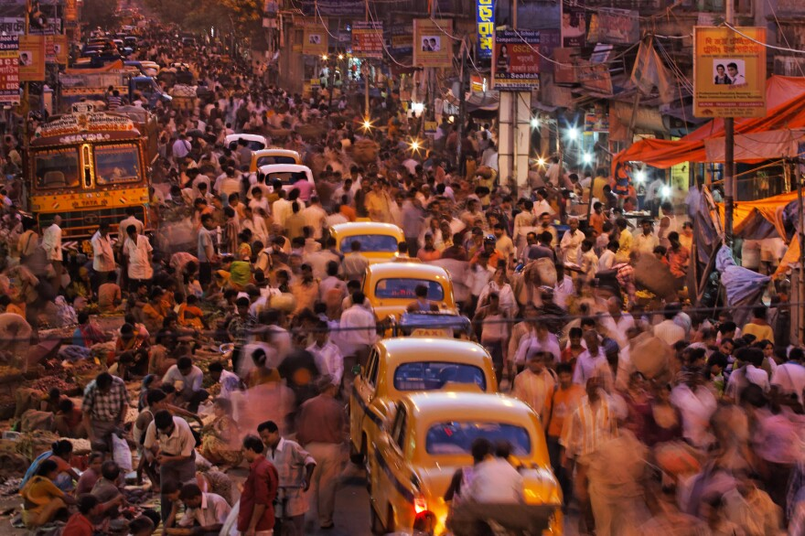 The crowded streets of Kolkata, India, are only going to get more crowded.