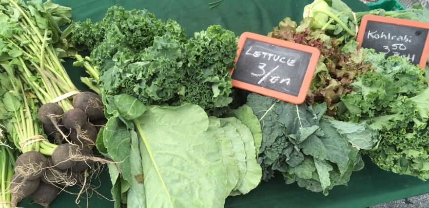 Customers can shop with SNAP at the Urban Oasis farmers markets.